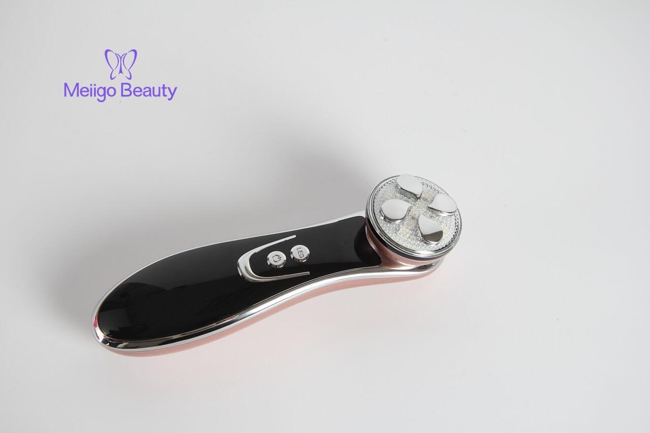 Meiigo beauty photon beauty device SD 1603 1 - Electric facial photon LED light therapy skin massage device SD-1603