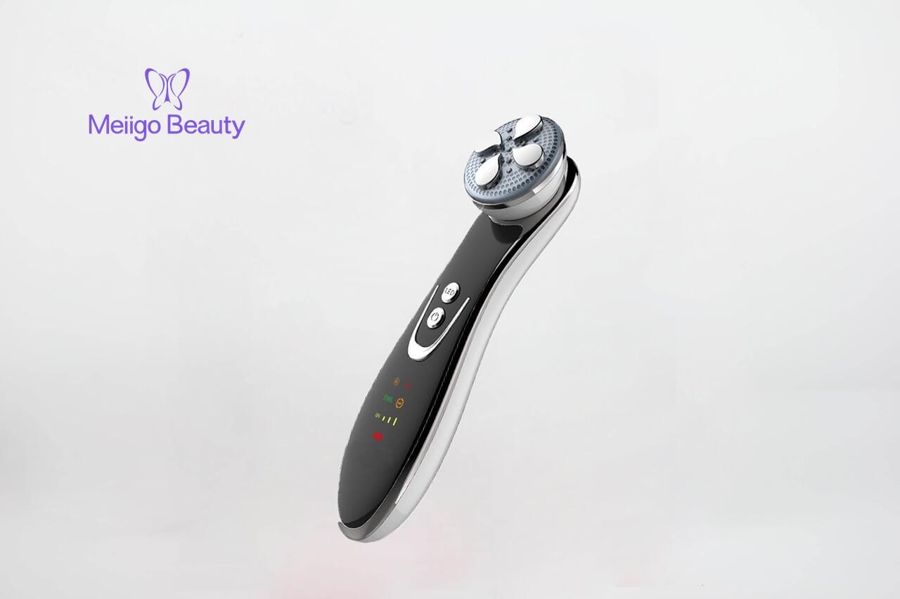 Meiigo beauty photon beauty device SD 1603 5 - Electric facial photon LED light therapy skin massage device SD-1603