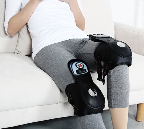 Meiigo beauty Knee massager G 839D 4 - Electric heat vibration knee and joint massager G-839D
