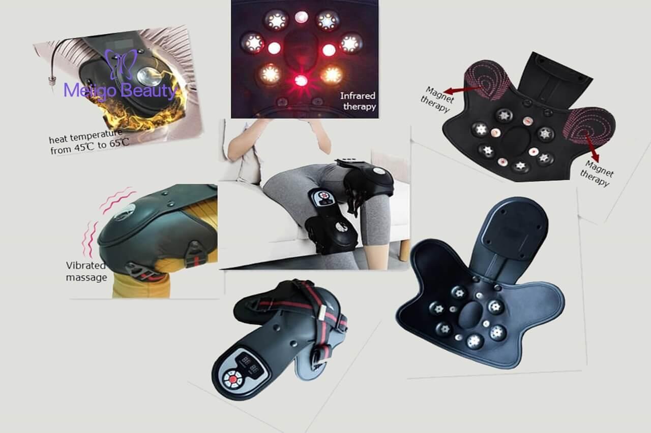 Meiigo beauty Knee massager G 839D 5 - Electric heat vibration knee and joint massager G-839D