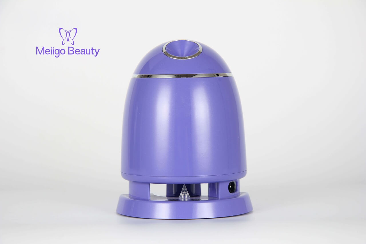 Meiigo beauty face mask machine purple FM002 2 - Automatic DIY fruit vegetable face mask making machine in purple FM002
