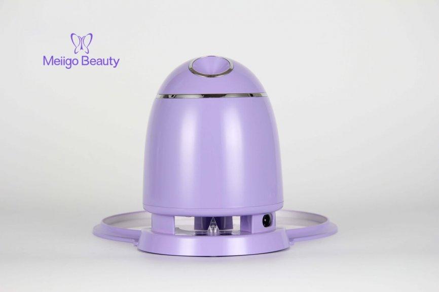 Meiigo beauty face mask machine purple FM002 3 866x577 - Automatic DIY fruit vegetable face mask making machine in purple FM002