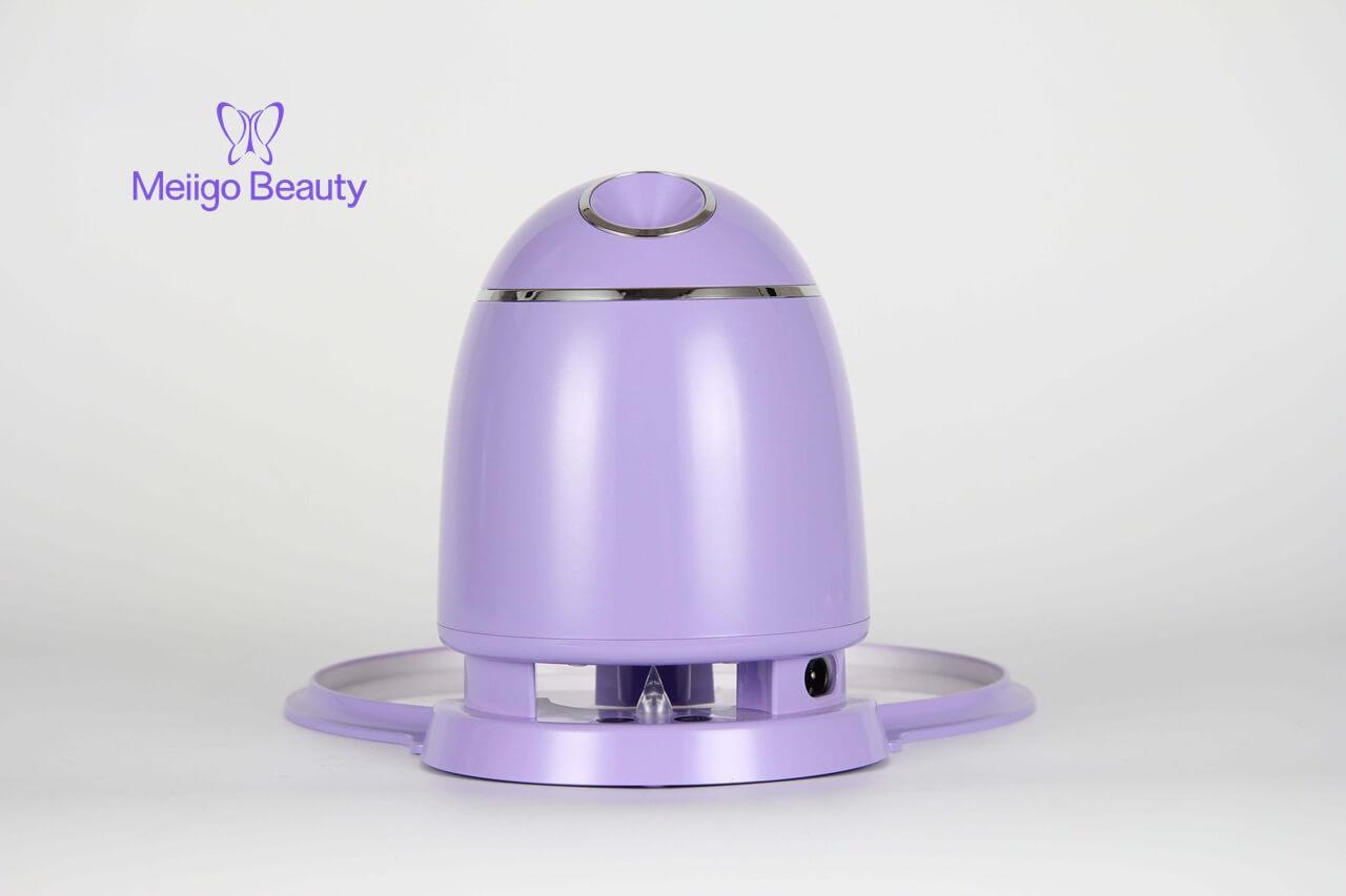 Meiigo beauty face mask machine purple FM002 3 - Automatic DIY fruit vegetable face mask making machine in purple FM002
