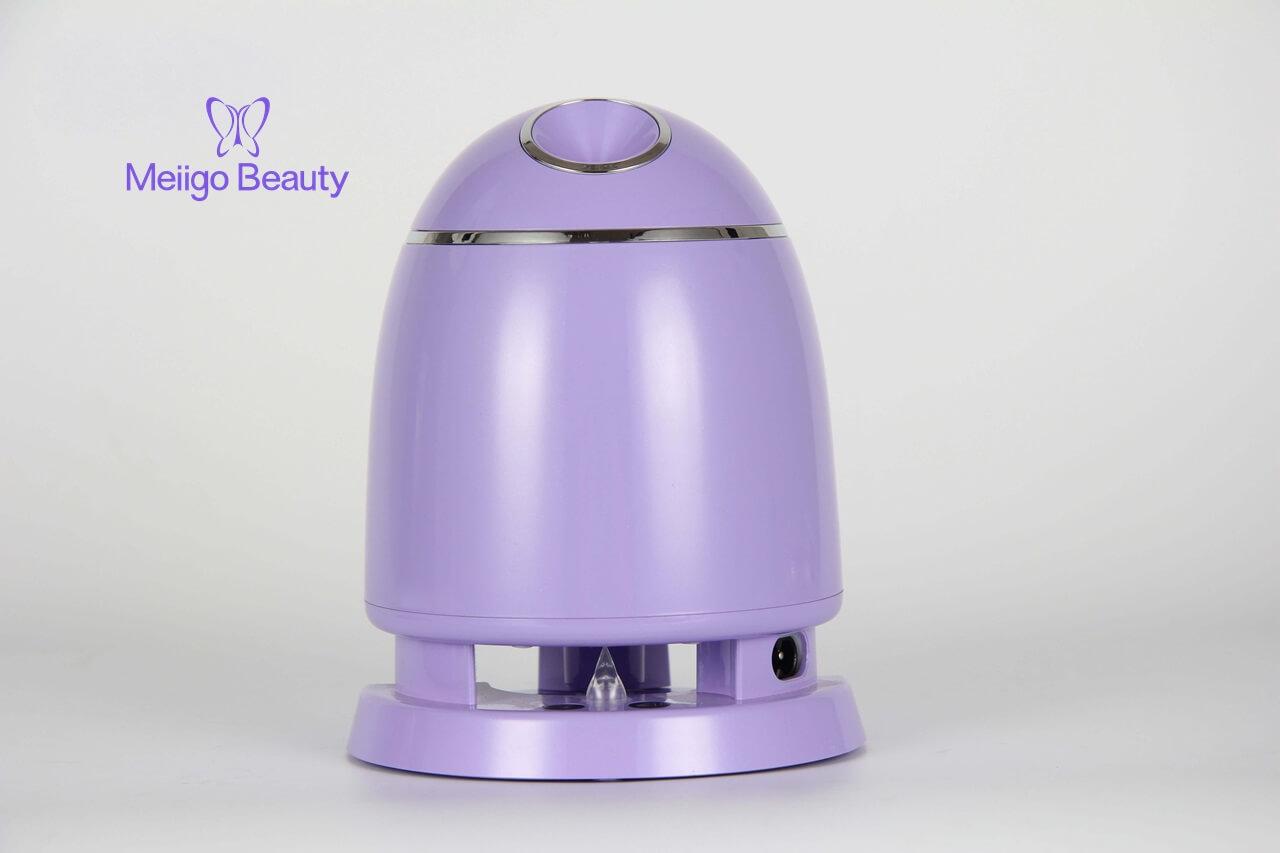 Meiigo beauty face mask machine purple FM002 4 - Automatic DIY fruit vegetable face mask making machine in purple FM002
