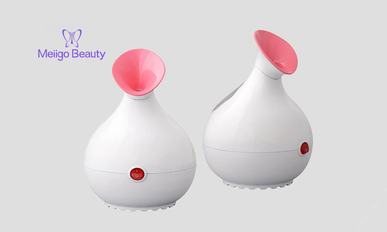 Meiigo beauty facial steamer FS 01A Feature image - Nano Ionic facial steamer hot mist moisturizing sauna SPA FS-01A