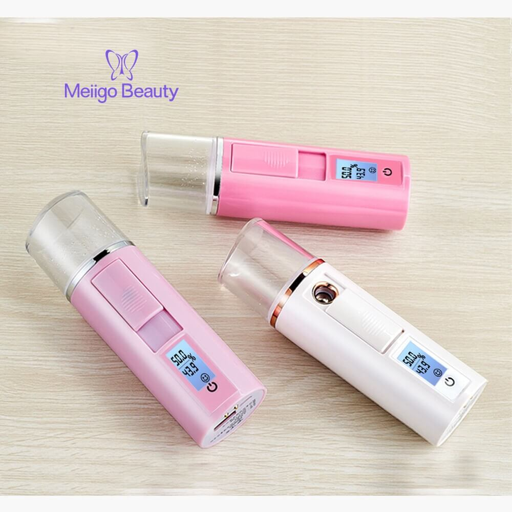 Meiigo beauty nano facial mist humidifier SP 003 7 - Nano Ionic facial steamer mist atomizer humidifier 3 in 1 SP-003