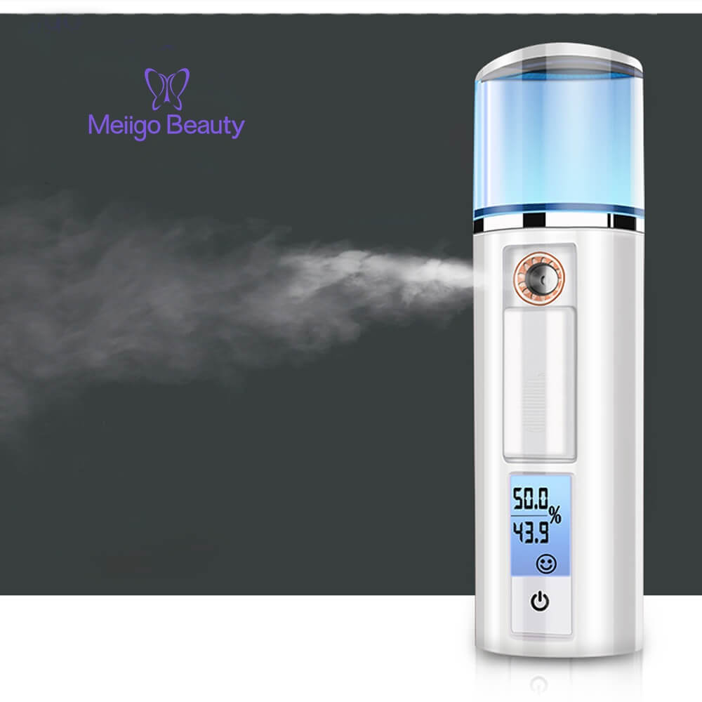Meiigo beauty nano facial mist humidifier SP 003 8 - Nano Ionic facial steamer mist atomizer humidifier 3 in 1 SP-003