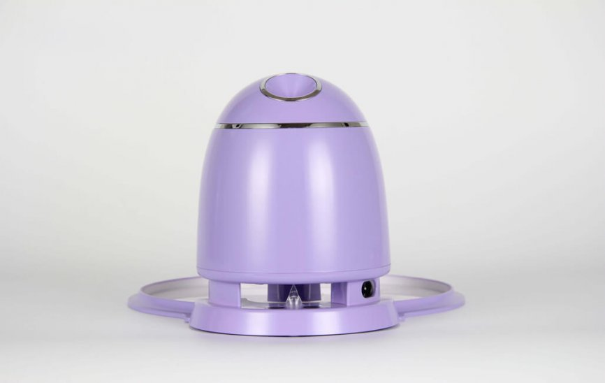Meiigo beauty face mask machine purple FM002 3 866x548 - DIY fruit mask making machine, a new craze in beauty world now!