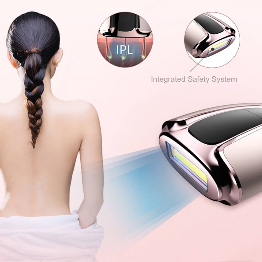 IPL hair removal from MYG 3 1 866x866 - Portable Laser Epilator at Home IPL Beauty Machine for Hair Removal