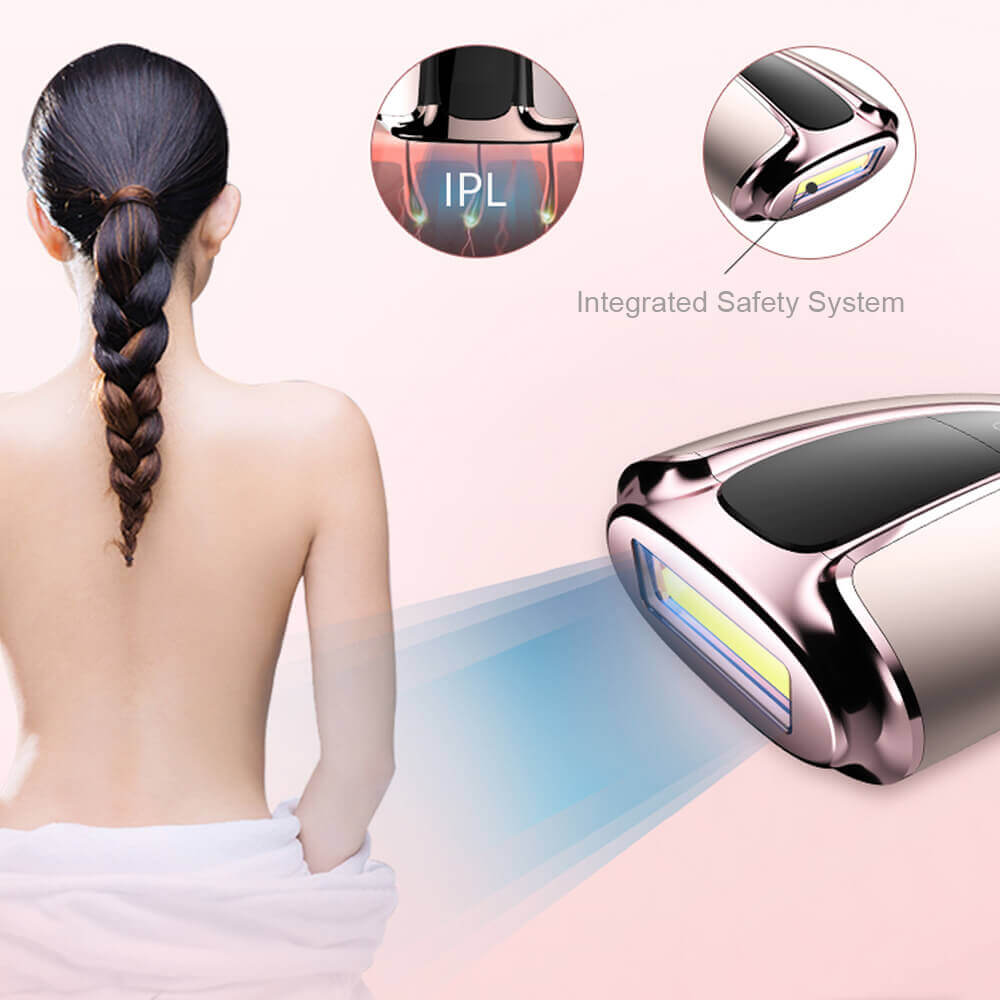 IPL hair removal from MYG 3 1 - Portable Laser Epilator at Home IPL Beauty Machine for Hair Removal