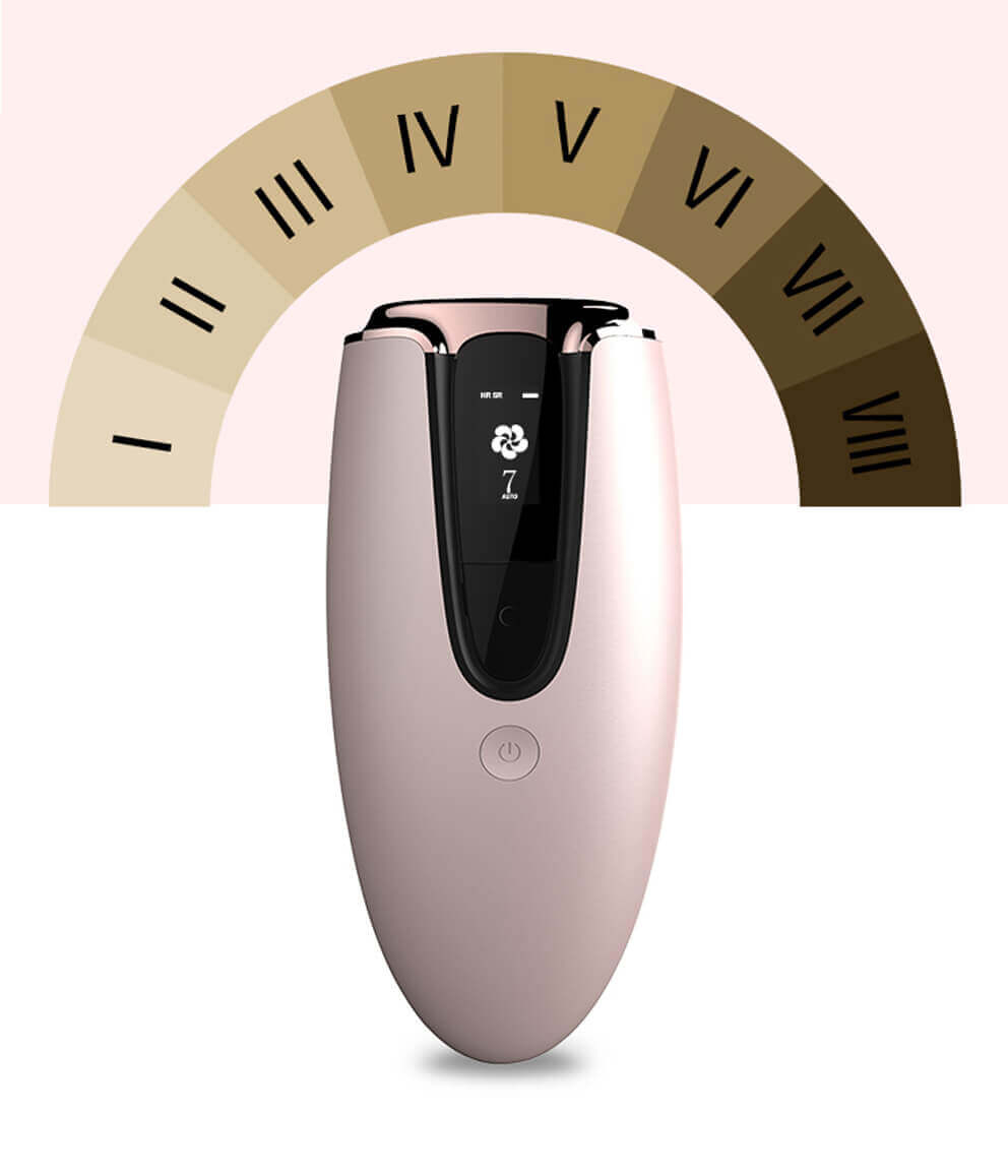 IPL hair removal from MYG 4 - Portable Laser Epilator at Home IPL Beauty Machine for Hair Removal
